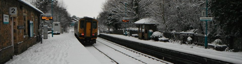 Llanwrtyd Wells Station