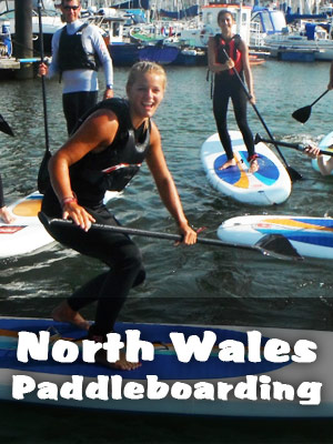 North Wales Paddleboarding
