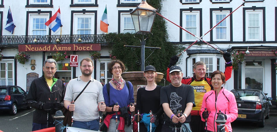Nordic Walking Llanwrtyd Wells 11-12th May 2013