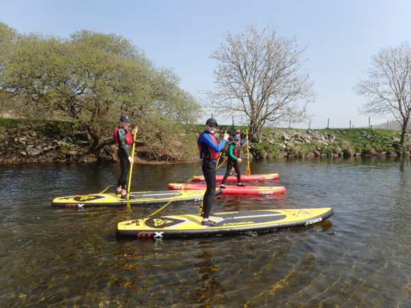 Stand up Paddleboarding in Wales