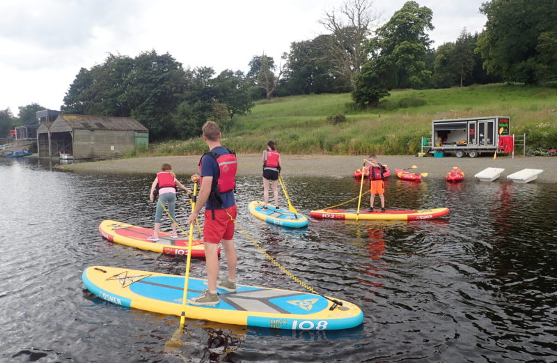 Green Dragon School North Wales Stand Up Paddleboard