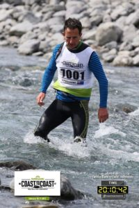 Crossing Bealey River Kathmandu 2017 Coast to Coast SUP