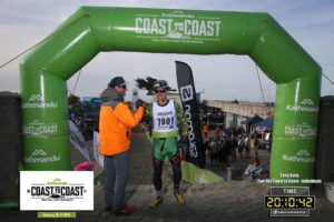 Kathmandu 2017 Coast to Coast Finish line