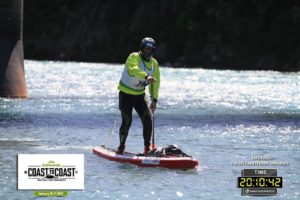 Kathmandu 2017 Coast to Coast Paddle section Finish line