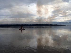 Yukon 1000 forest fire