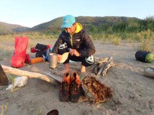 Camp life Yukon 1000