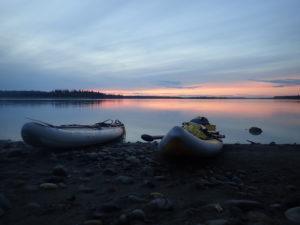 Yukon 1000 sunset