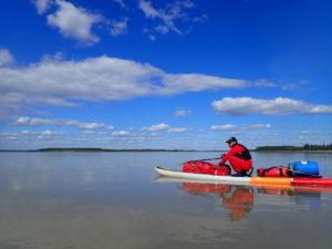 Yukon 1000 vast area of water