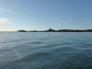 Ynys Llanddwyn and Twr Mawr lighthouse