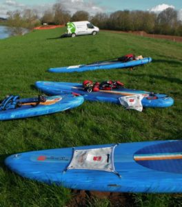 Red Paddle Co boards for the River Severn Source to Sea Journey