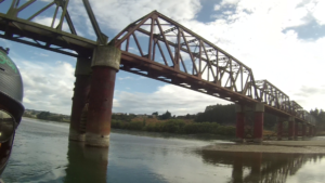 Balclutha Rail Bridge Wild Descent River Tour 2015