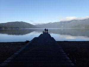 Lake Hauroko jetty